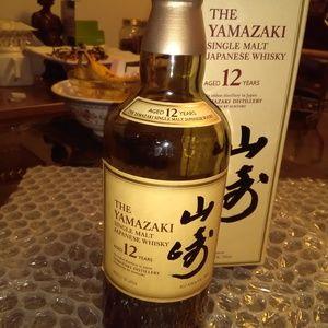 SOLD Yamazaki 12 Year Japanese EMPTY Bottle